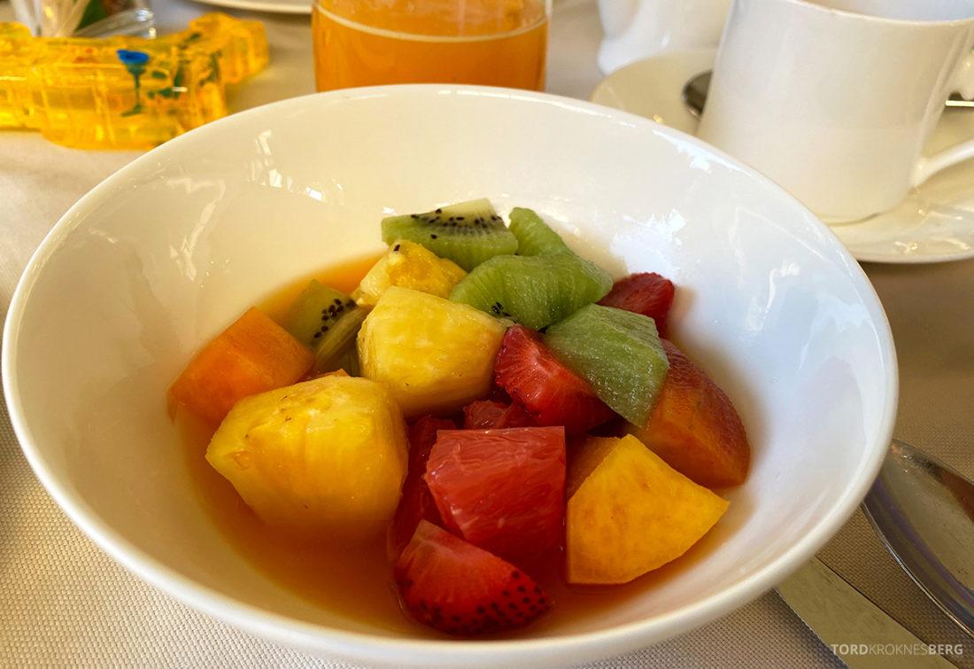 Grand Hotel Dei Dogi Venezia frokost frukt