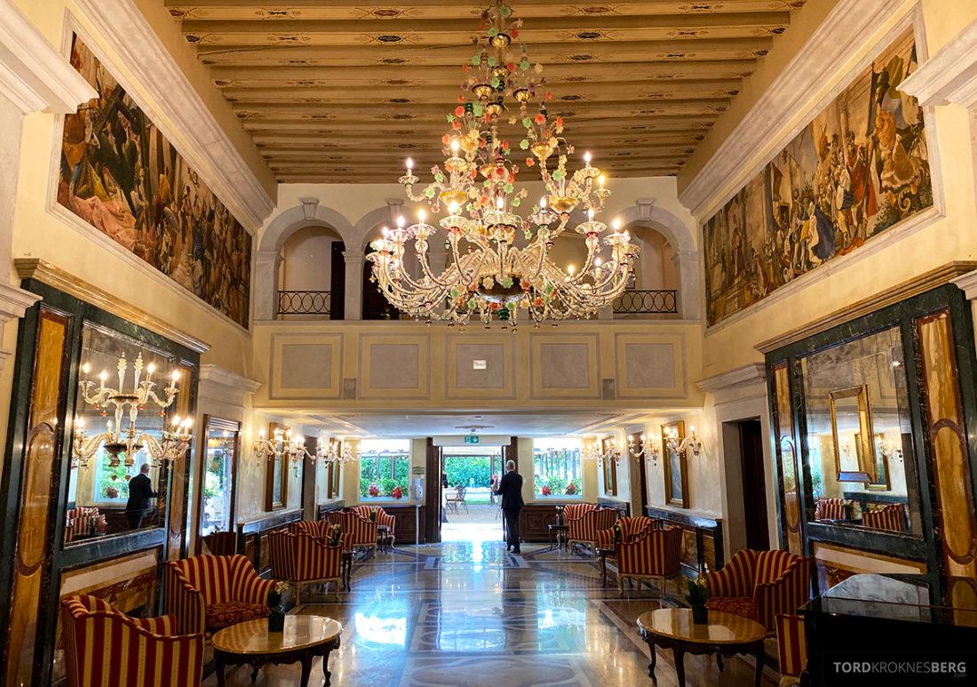Grand Hotel Dei Dogi Venezia lobby