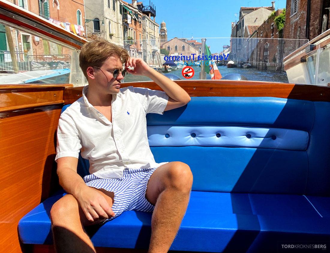 Grand Hotel Dei Dogi Venezia Tord Kroknes Berg vanntaxi