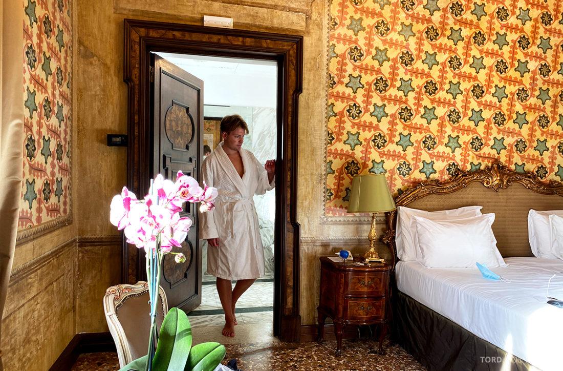 Grand Hotel Dei Dogi Venezia Tord Kroknes Berg morgenkåpe