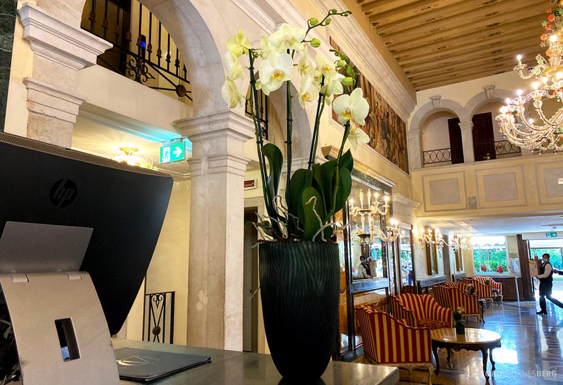 Grand Hotel Dei Dogi Venezia resepsjon