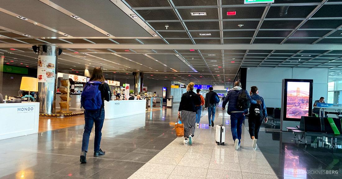Lufthansa Economy Business Class Covid19 mot lounge