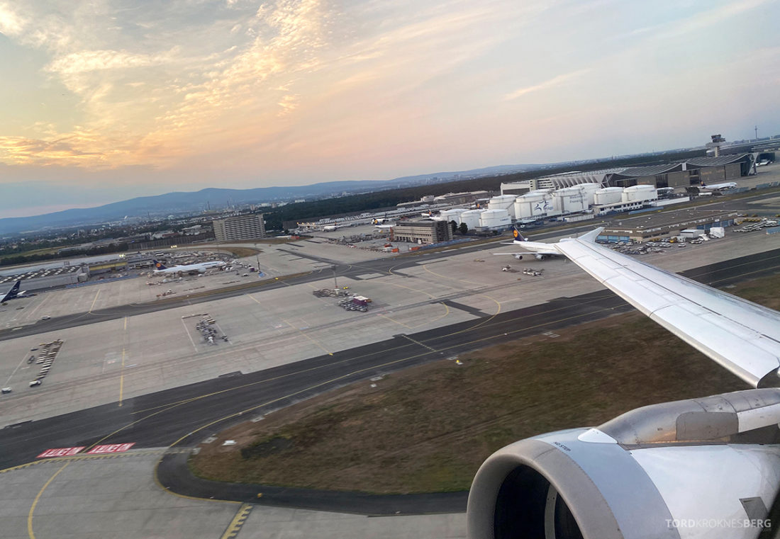 Lufthansa Economy Business Class Covid19 adjø Frankfurt