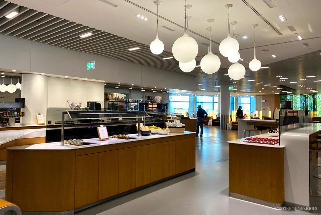 Lufthansa Senator Lounge Frankfurt Covid19 oversikt