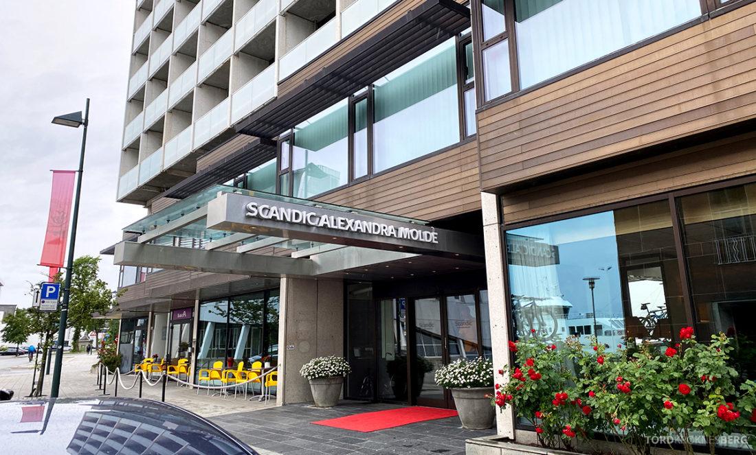 Scandic Alexandra Hotel Molde inngangsparti