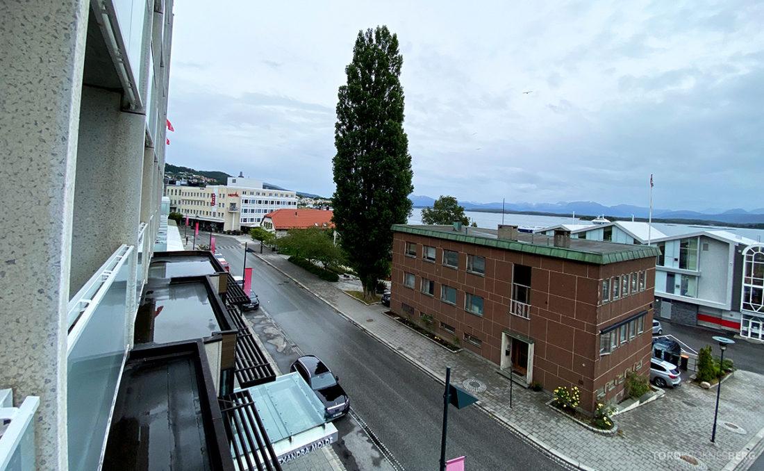 Scandic Alexandra Hotel Molde utsikt standardværelse