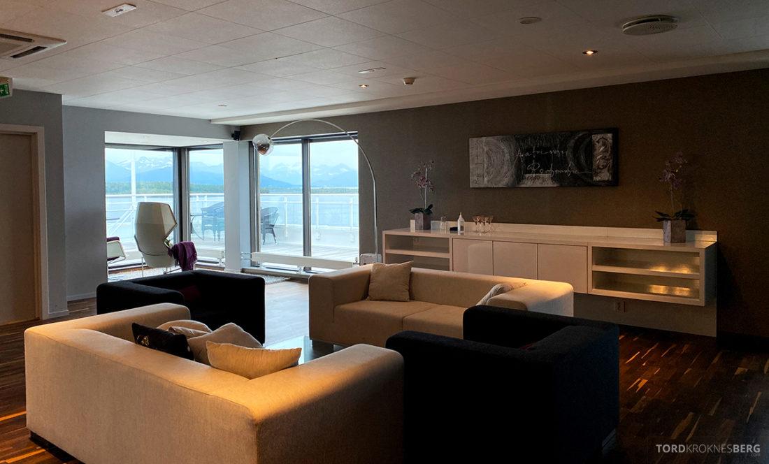 Scandic Alexandra Hotel Molde Alexandrasuiten sofagruppe