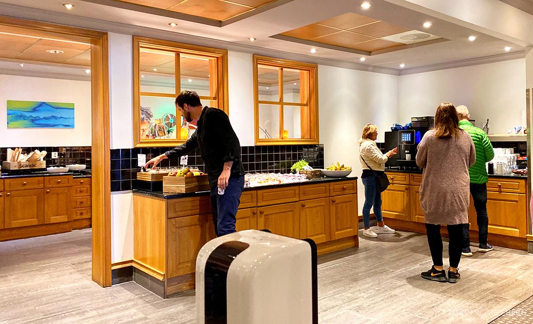 Scandic Alexandra Hotel Molde oversikt buffet
