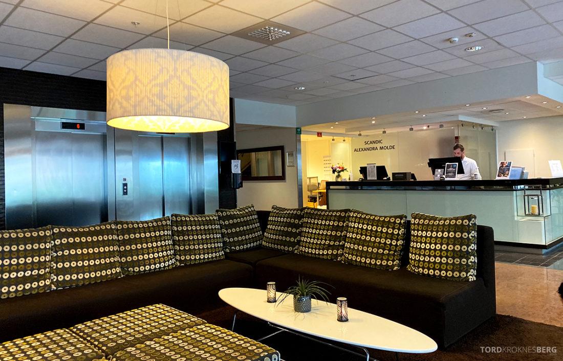 Scandic Alexandra Hotel Molde resepsjon