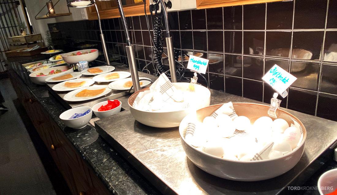 Scandic Alexandra Hotel Molde egg og pannekaker