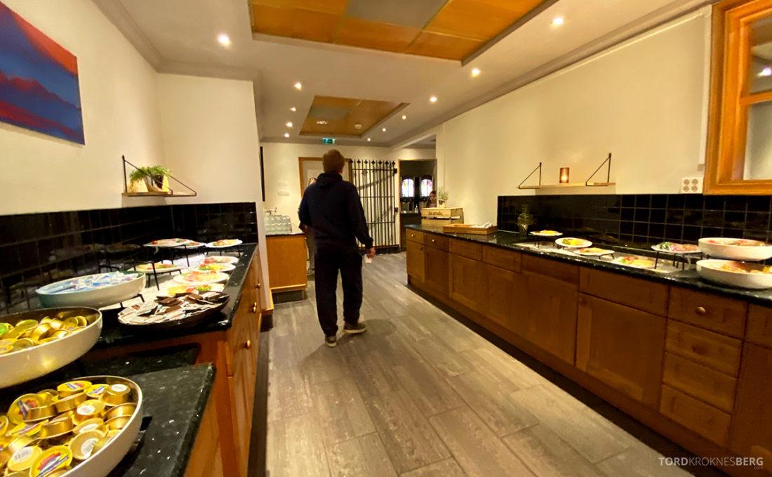 Scandic Alexandra Hotel Molde buffet oversikt