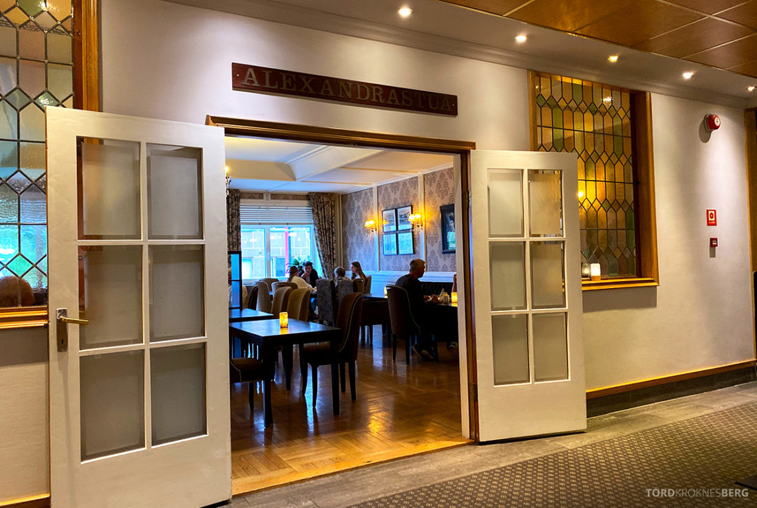 Scandic Alexandra Hotel Molde inngang frokost