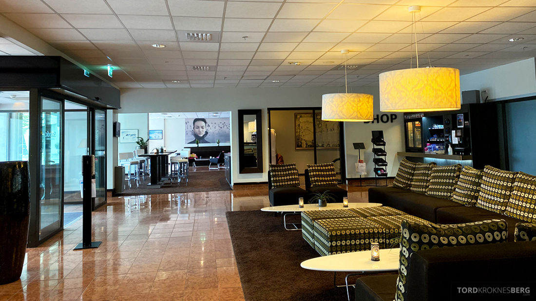 Scandic Alexandra Hotel Molde lobby