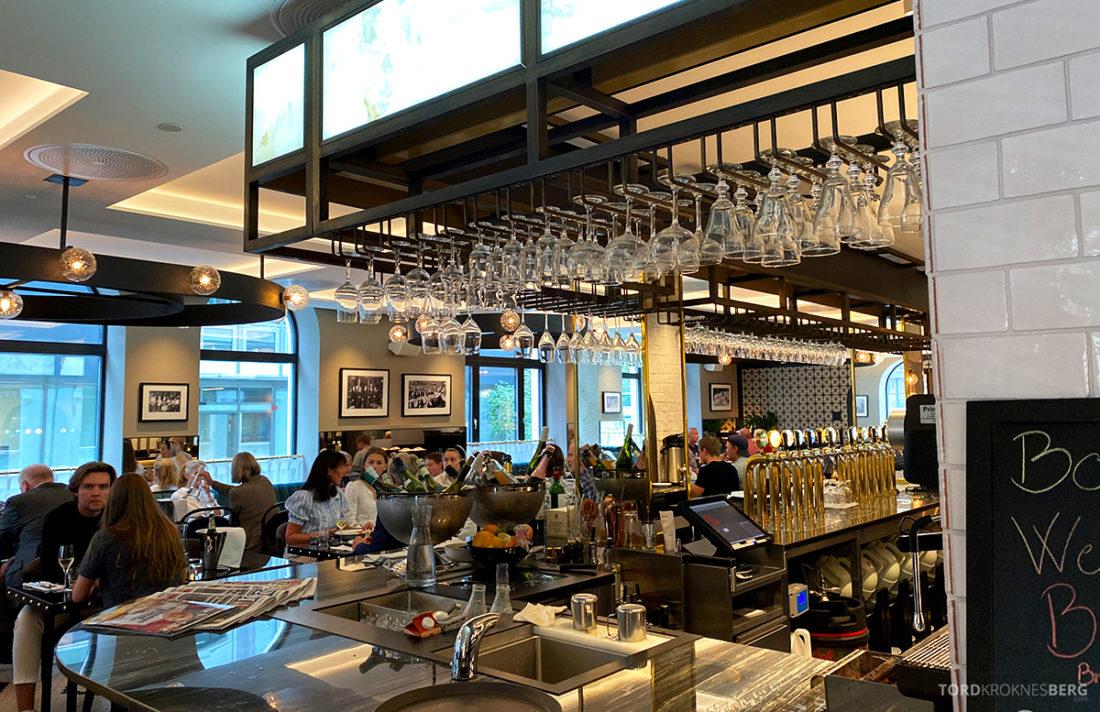 Brasserie Britannia Restaurant Trondheim bar