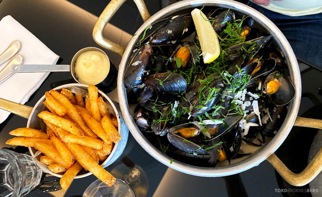 Brasserie Britannia Restaurant Trondheim blåskjell