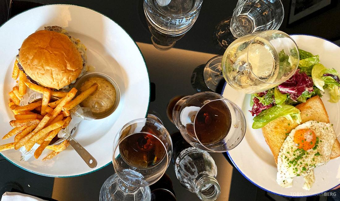 Brasserie Britannia Restaurant Trondheim mat