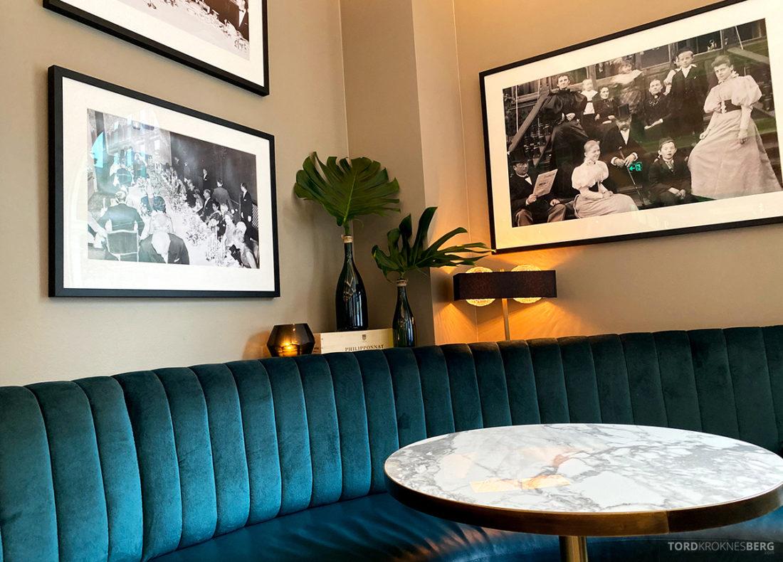 Brasserie Britannia Restaurant Trondheim bord