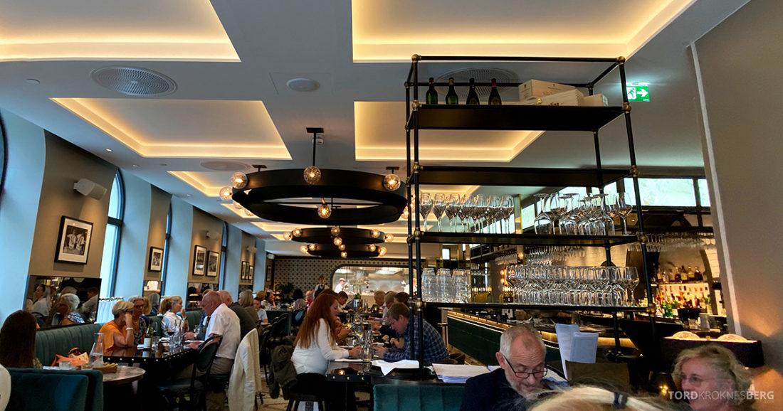 Brasserie Britannia Restaurant Trondheim lokale