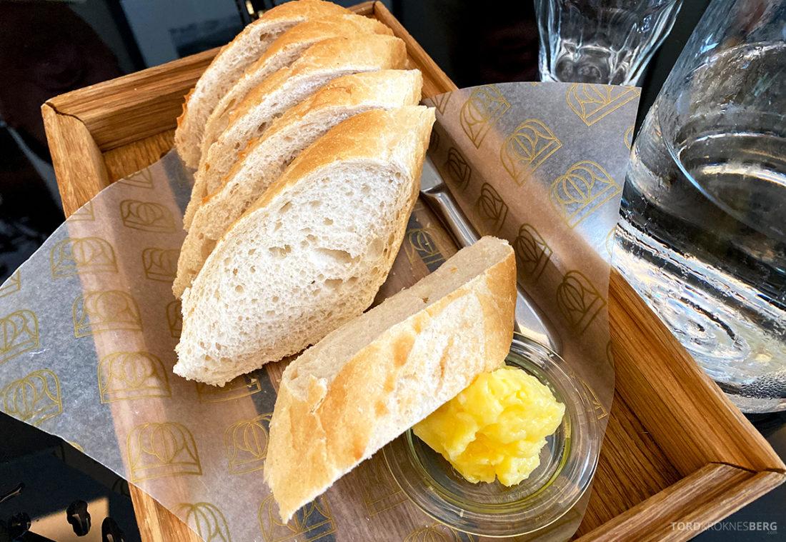 Brasserie Britannia Restaurant Trondheim brød