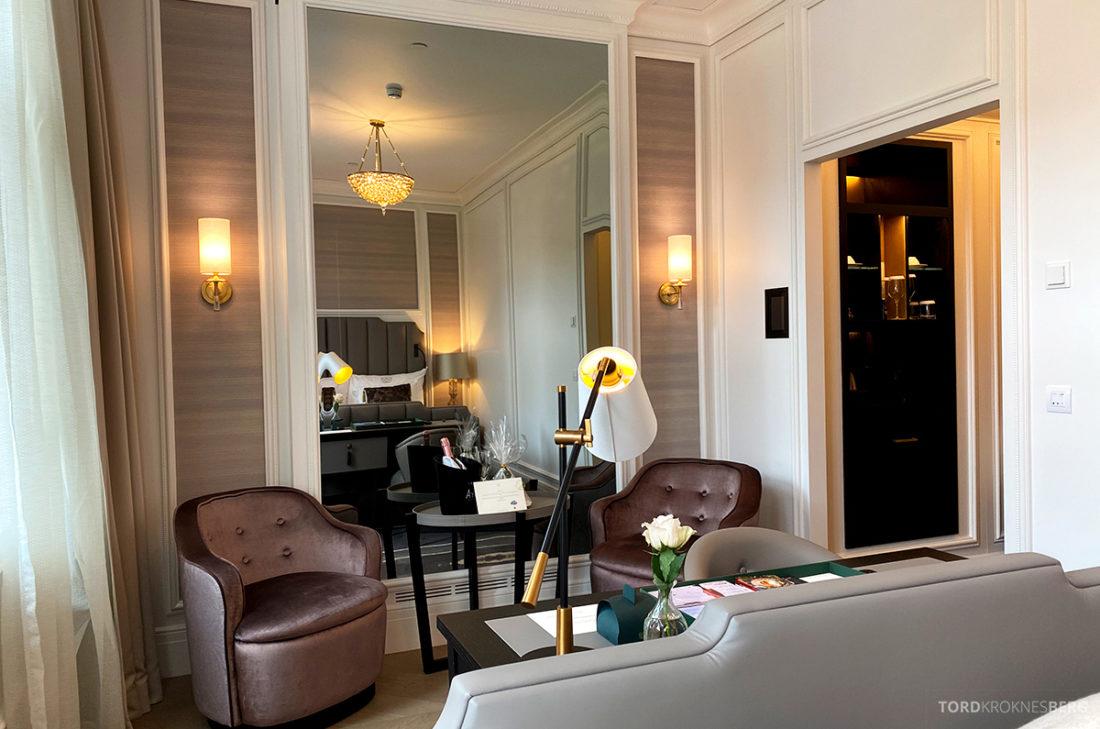 Britannia Hotel Trondheim Deluxe værelse