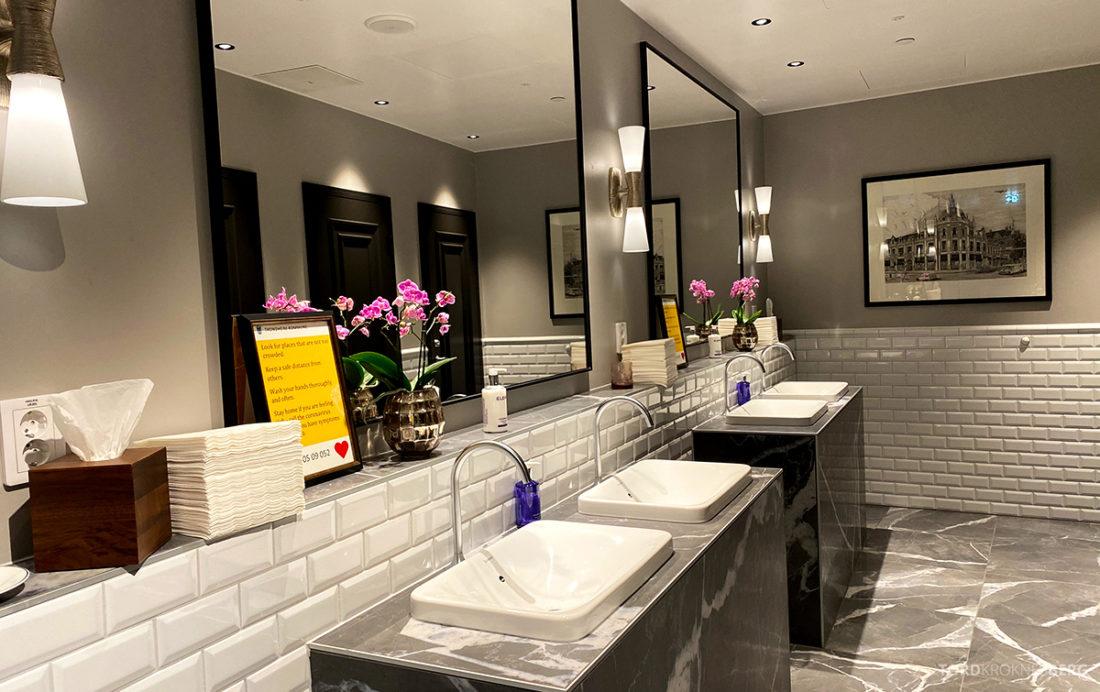 Britannia Hotel Trondheim felles toalett