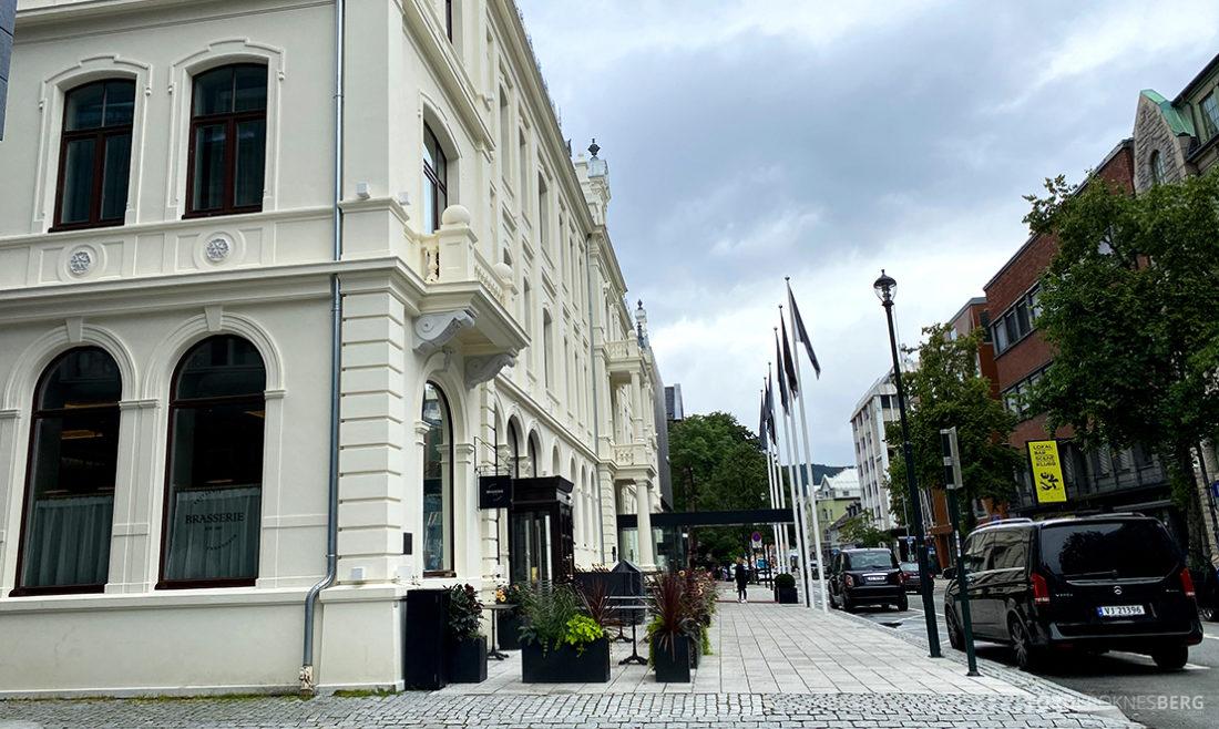 Britannia Hotel Trondheim adjø fasade
