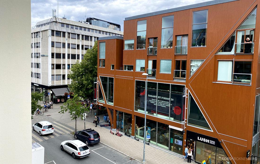 Britannia Hotel Trondheim utsikt