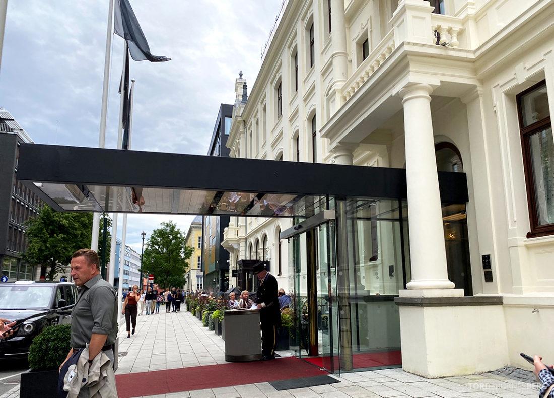 Britannia Hotel Trondheim hovedinngang