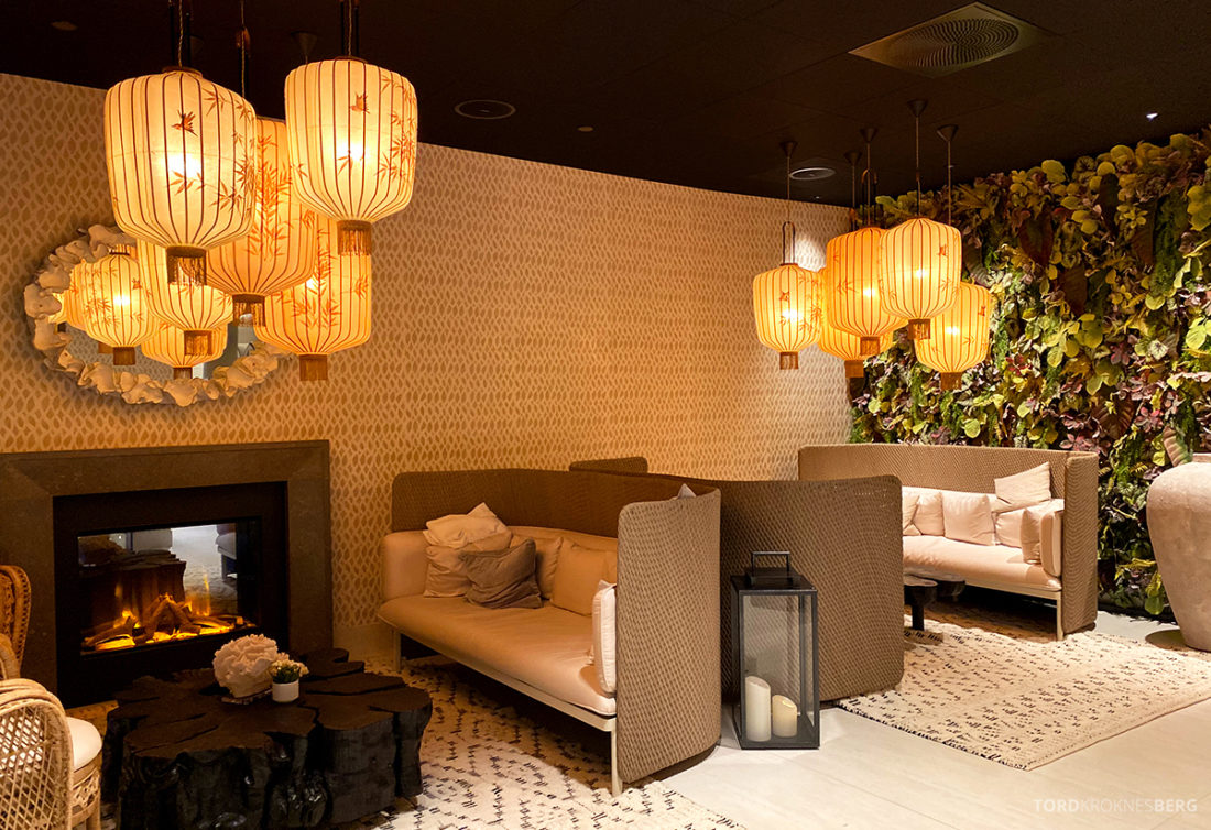 Britannia Hotel Trondheim spa lounge