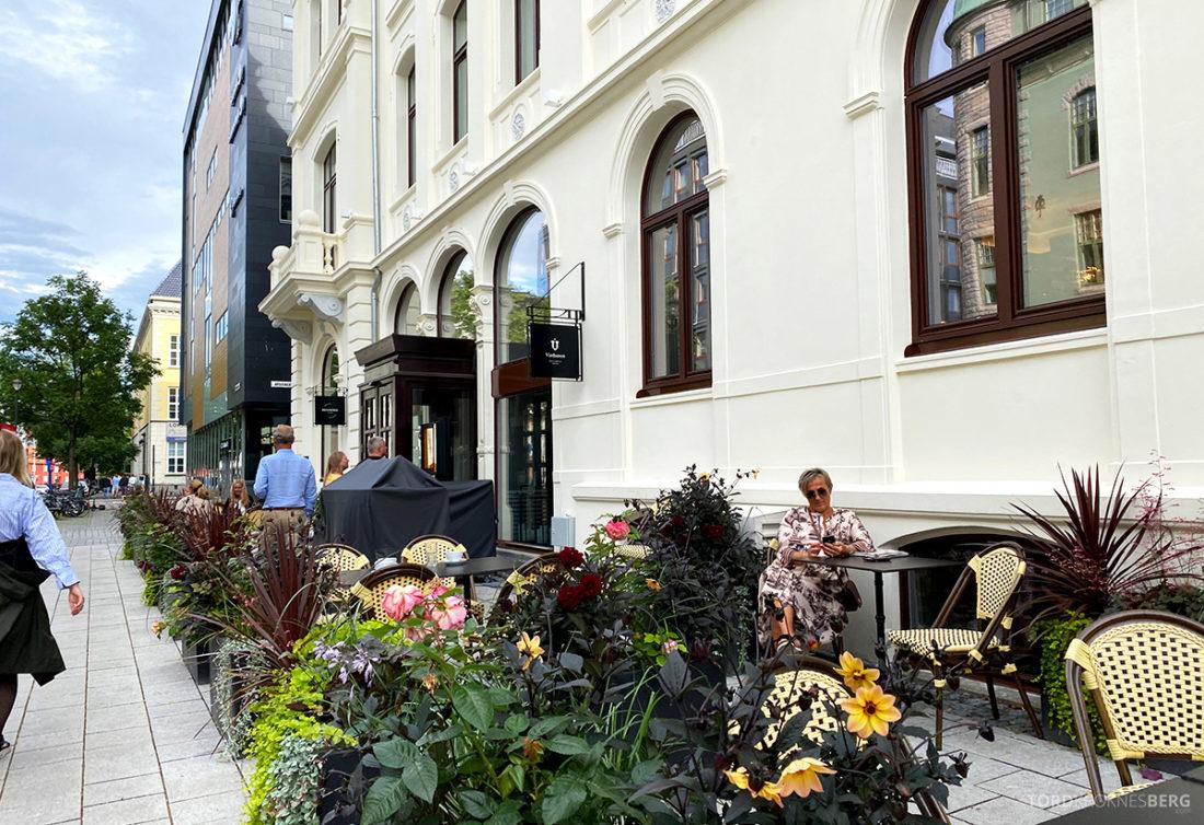 Britannia Hotel Trondheim uteservering
