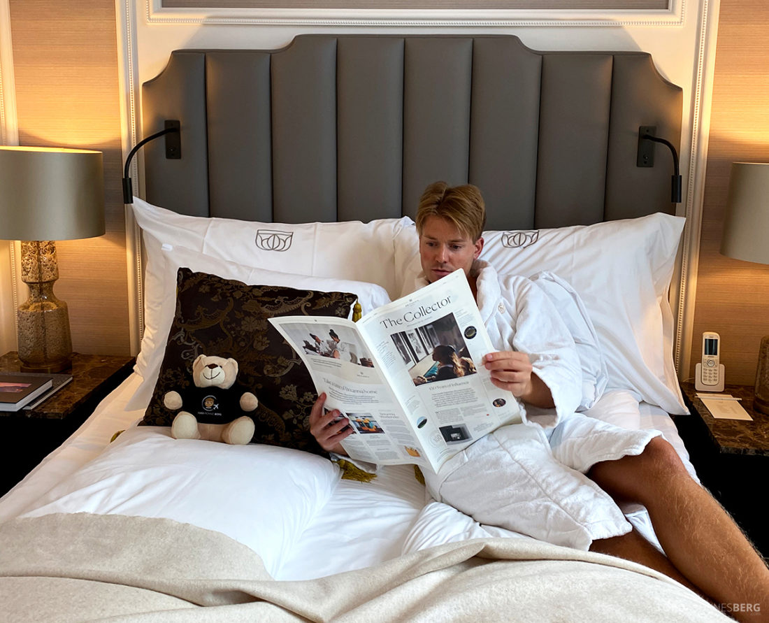 Britannia Hotel Trondheim Tord Kroknes Berg seng