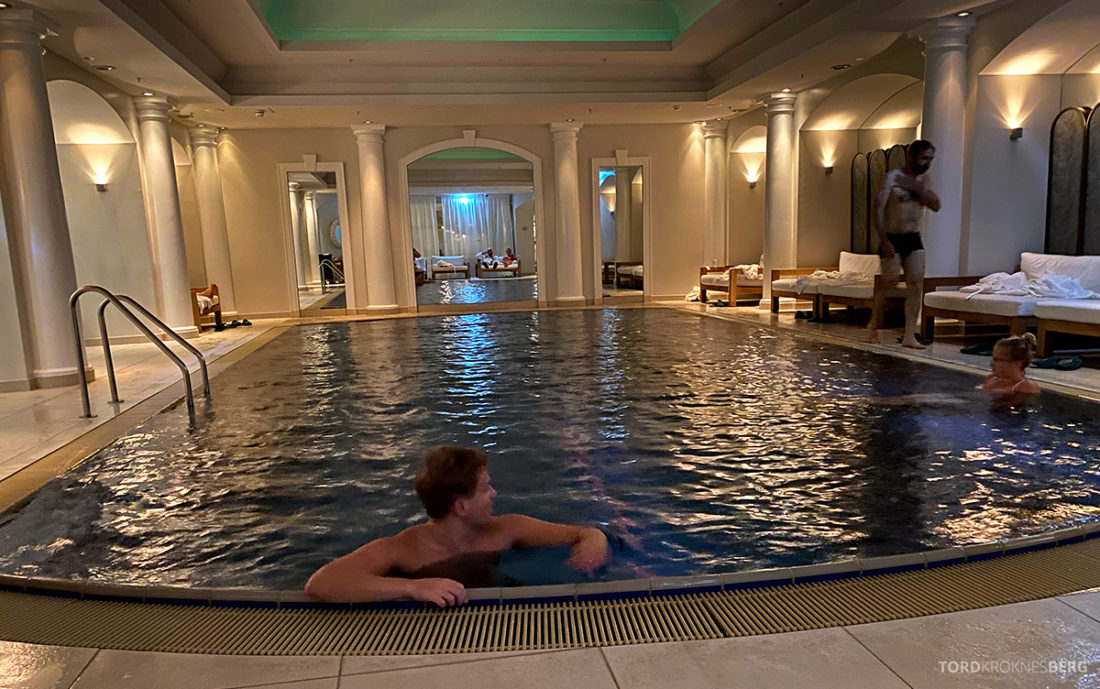 Britannia Hotel Trondheim spa Tord Kroknes Berg basseng