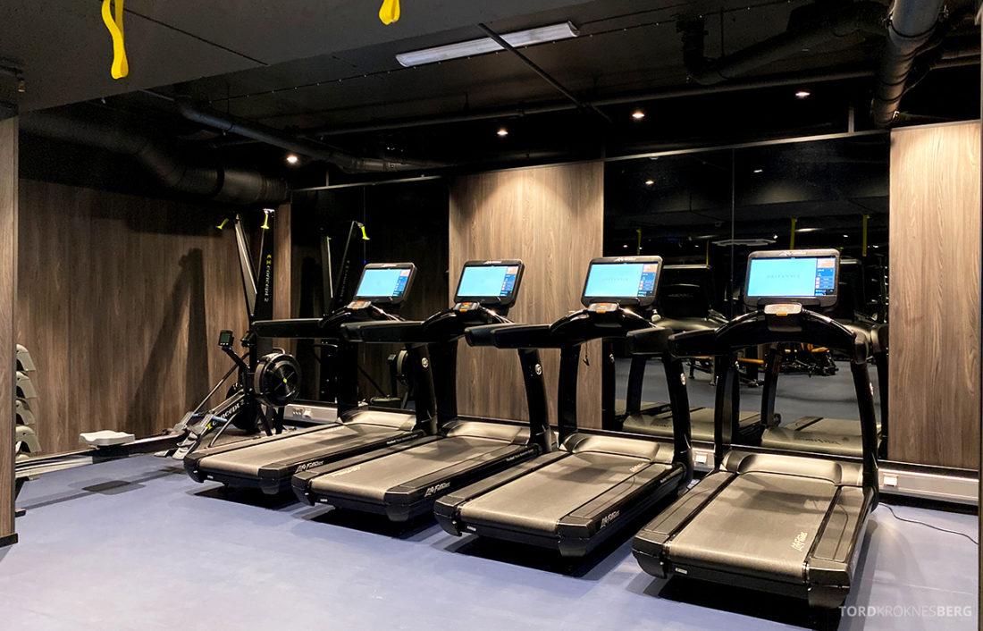 Britannia Hotel Trondheim tredemøller gym