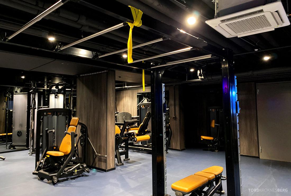 Britannia Hotel Trondheim gym utstyr