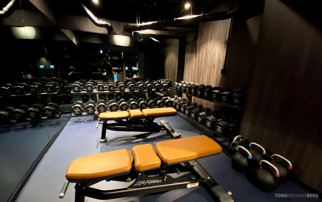 Britannia Hotel Trondheim gym vekter