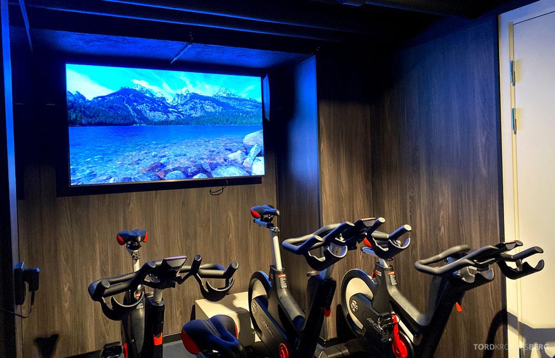 Britannia Hotel Trondheim gym spinning