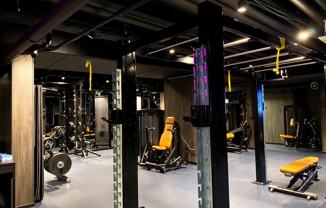 Britannia Hotel Trondheim gym apparater