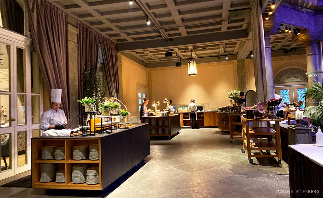 Britannia Hotel Trondheim frokostbuffet