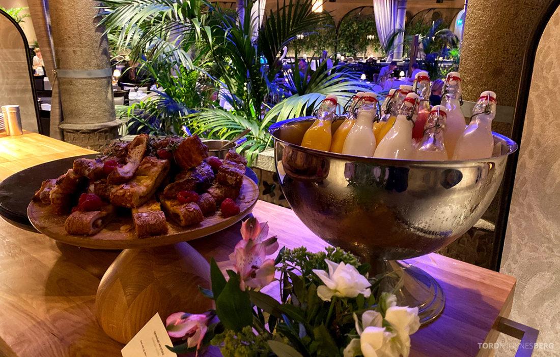 Britannia Hotel Trondheim frokost bakst