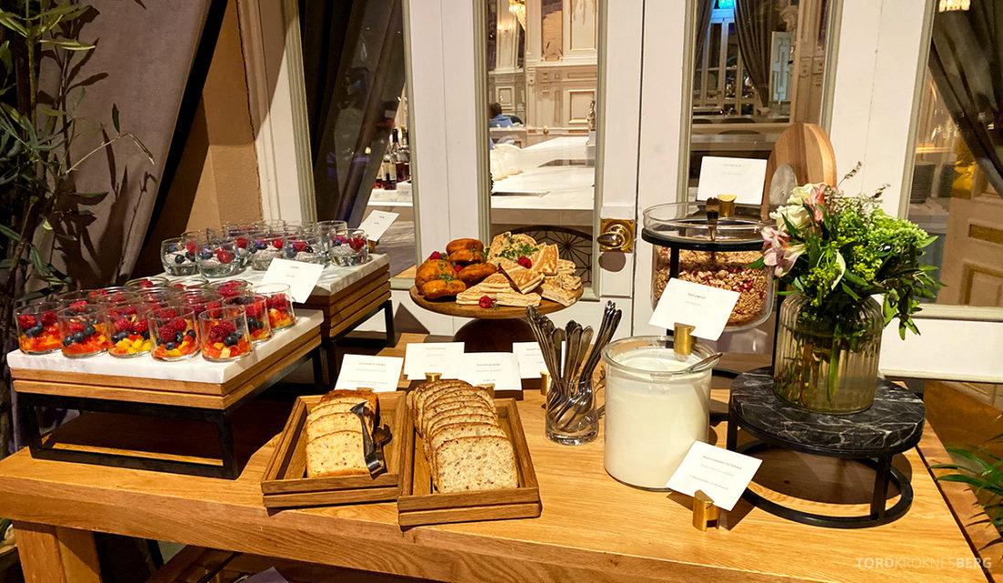 Britannia Hotel Trondheim frokost glutenfritt