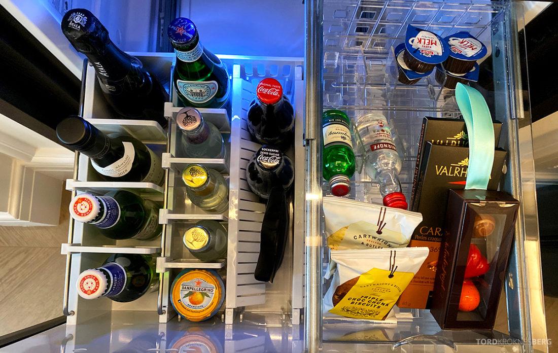 Britannia Hotel Trondheim minibar