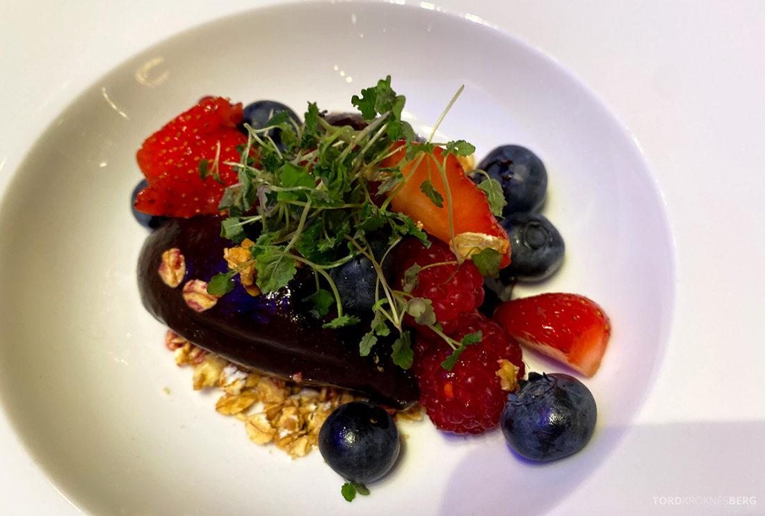 Britannia Hotel Trondheim frokost smoothiebowl