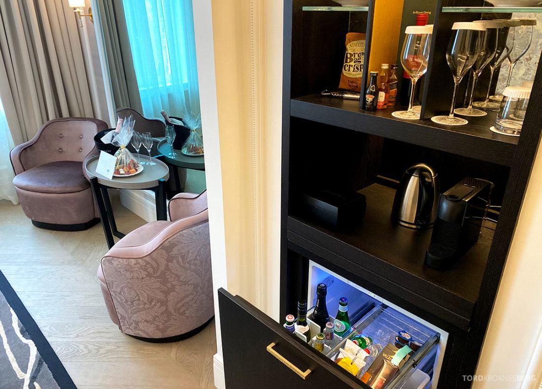 Britannia Hotel Trondheim kaffemaskin