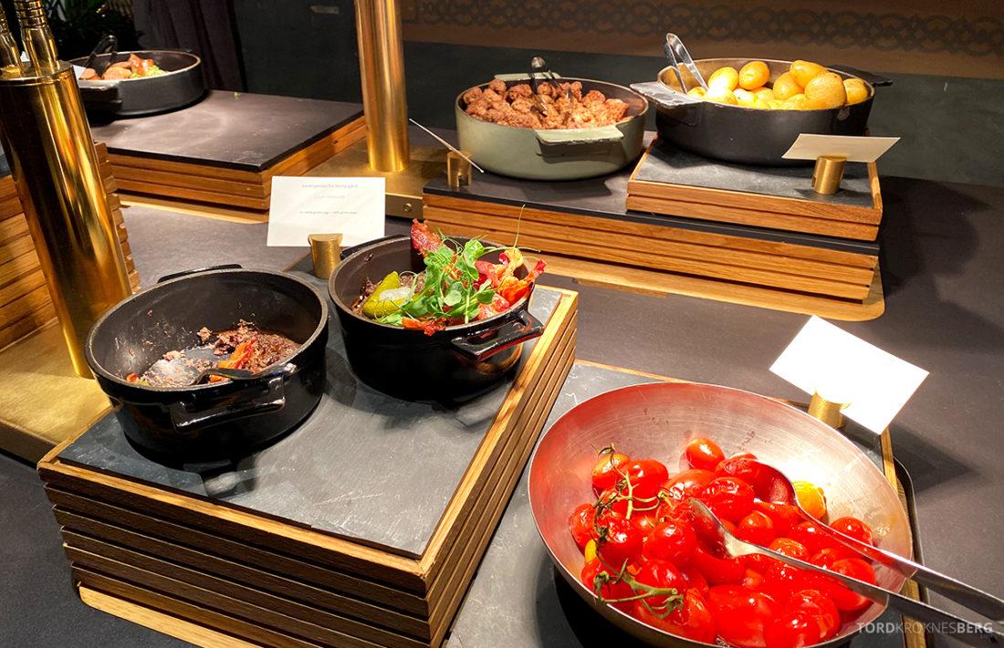 Britannia Hotel Trondheim frokost varmmat buffet