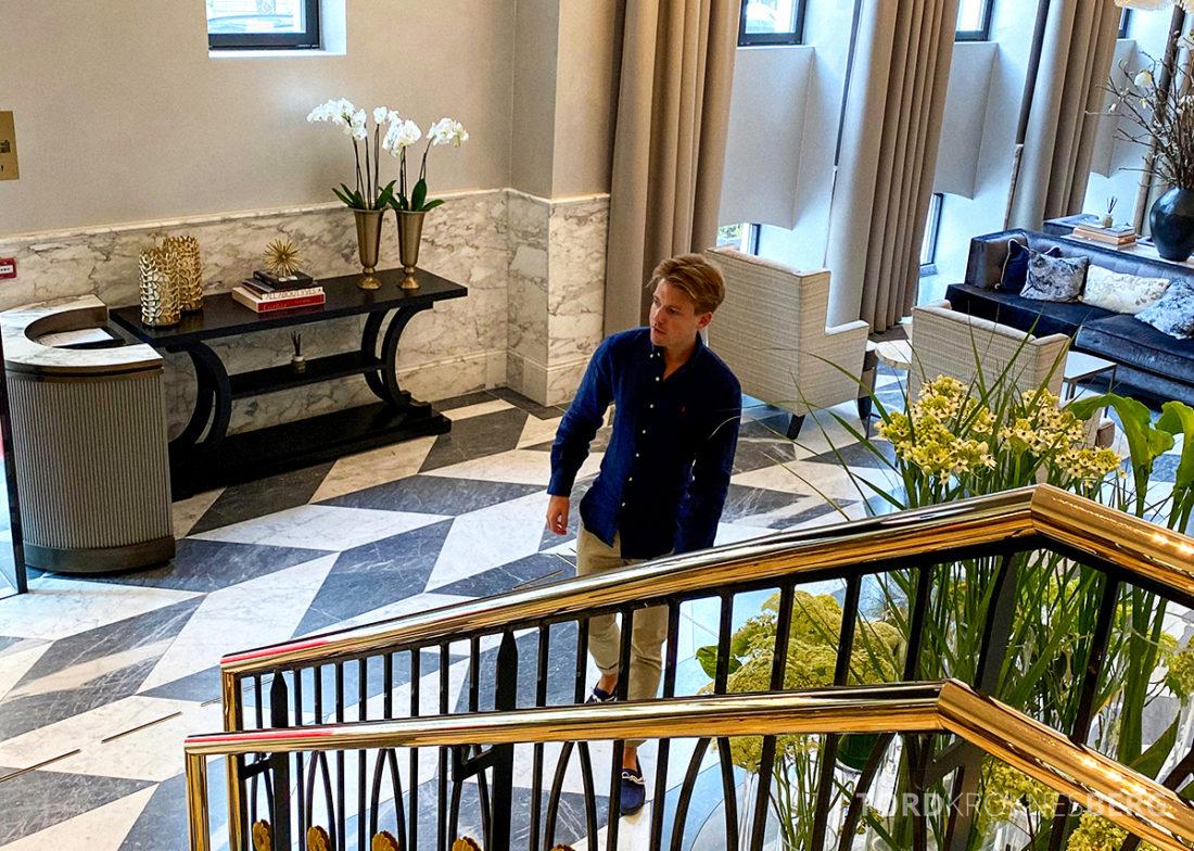 Britannia Hotel Trondheim Tord Kroknes Berg lobby
