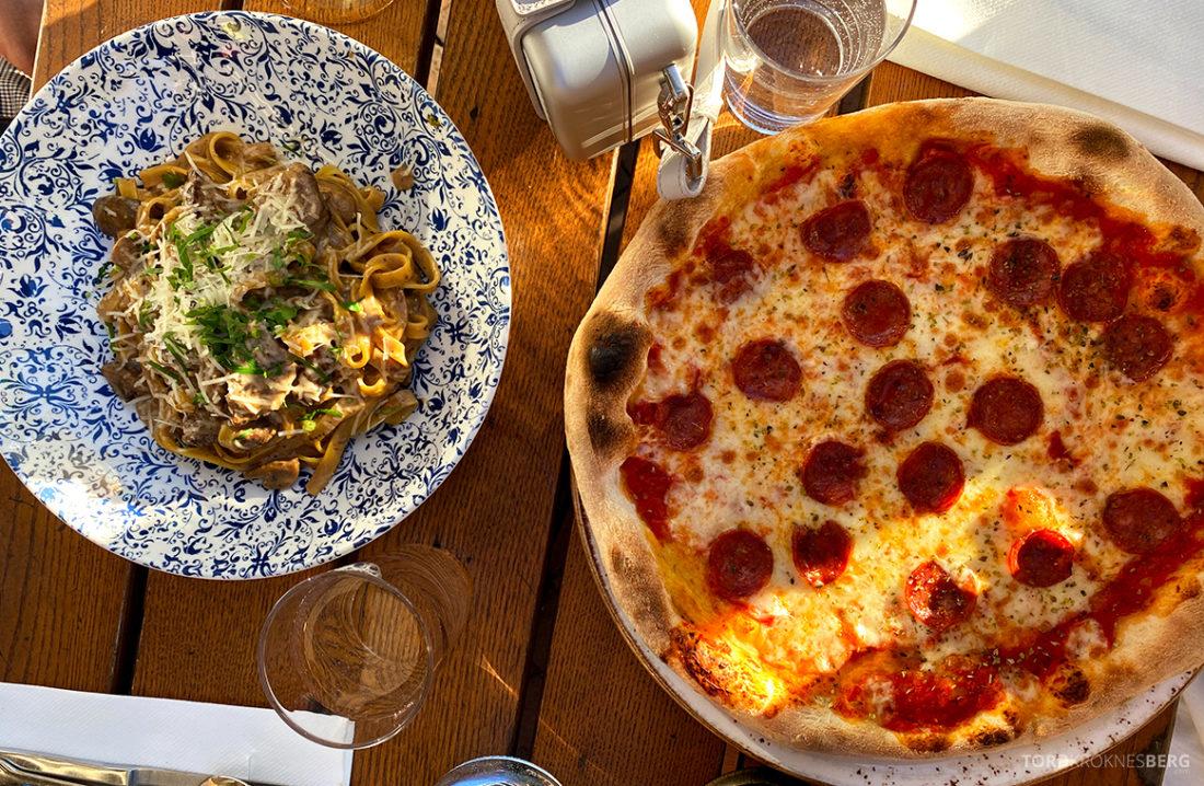 Eataly Restaurant Aker Brygge Oslo pizza og pasta