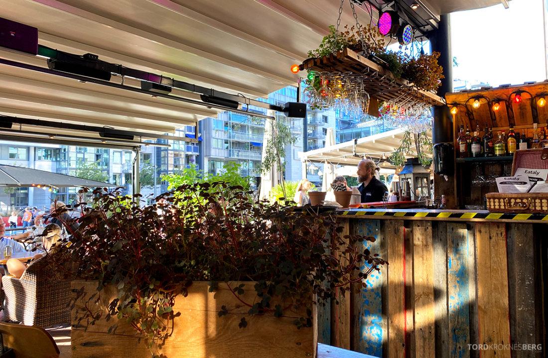 Eataly Restaurant Aker Brygge Oslo bar