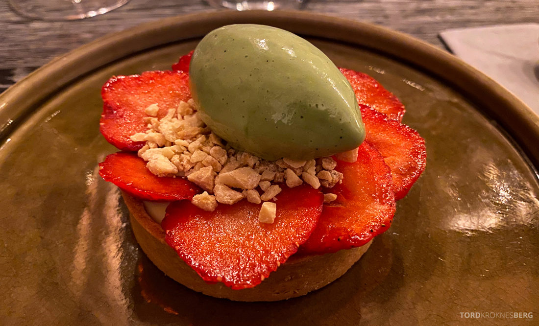 Jonathan Grill Restaurant Trondheim dessert