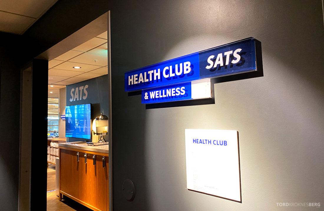 SAS Lounge Oslo Corona health club