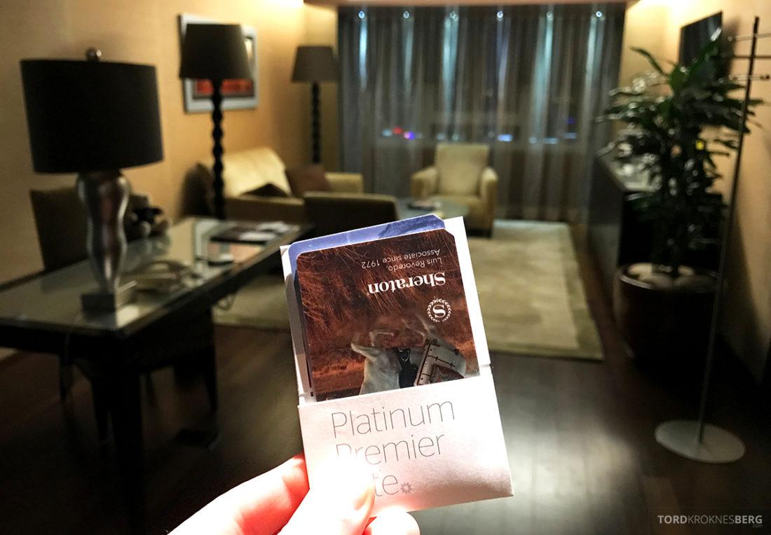 Sheraton Lisboa Hotel nøkkelkort